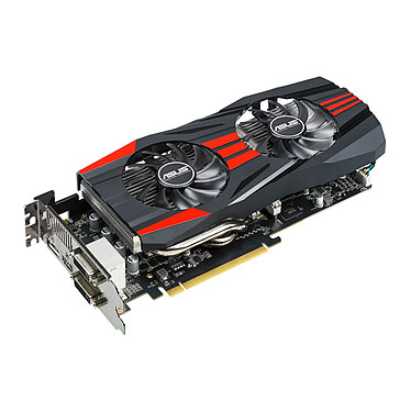 ASUS Radeon R9 270X R9270X-DC2T-2GD5 2 Go Dual DVI/HDMI/DisplayPort - PCI Express (AMD Radeon R9 270X)