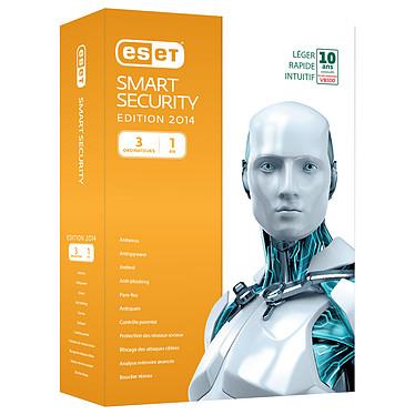 ESET Smart Security 7 - Licence 1 an 3 postes Suite de sécurité complète - Licence 1 an 3 postes (français, WINDOWS)