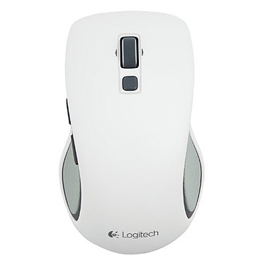 Logitech Wireless Mouse M560 (Blanc)