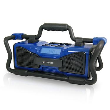 Metronic Radio de chantier Bleu