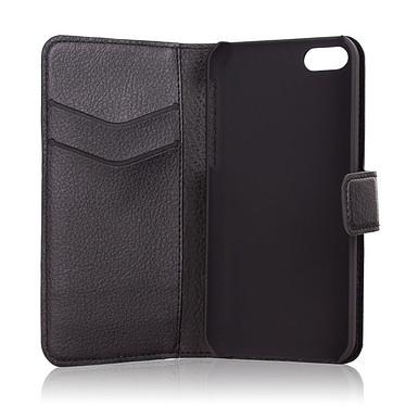 xqisit Folio Wallet for iPhone 5C Noir
