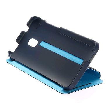 HTC Coque à rabat Double Dip Flip HC V851 Bleu Foncé