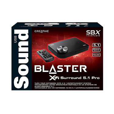 Opiniones sobre Creative Sound Blaster X-Fi Surround 5.1 Pro