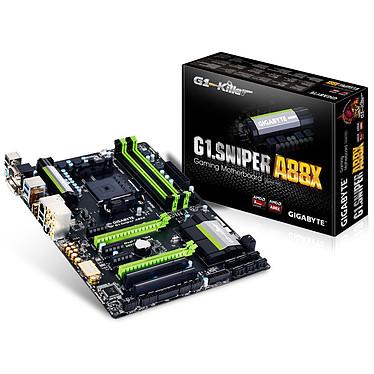 Gigabyte G1.Sniper A88X Carte mère ATX Socket FM2+ AMD 88X - SATA 6Gb/s - USB 3.0 - 1x PCI-Express 2.0 16x