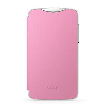 Acer Flip Case Rose pour Liquid Z3 Duo Etui rose pour Acer Liquid Z3 Duo