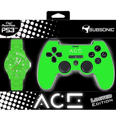 Subsonic ACE Controller Vert Edition Limitée (PS3)