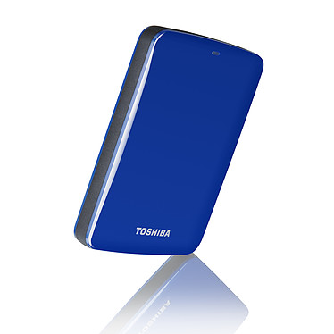 Toshiba Stor.e Canvio v7 1 To Bleu pas cher