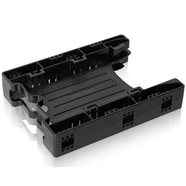 """ICY DOCK EZ-Fit Lite MB290SP-1B Rack pour 2 disques durs ou SSD de 2.5"""" IDE/SATA dans baie 3.5"""""""