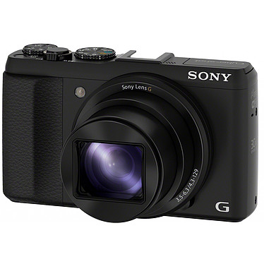 Sony DSC-HX50V Noir Appareil photo 20.4 MP - Zoom optique 30x - Full HD - Wi-Fi - GPS