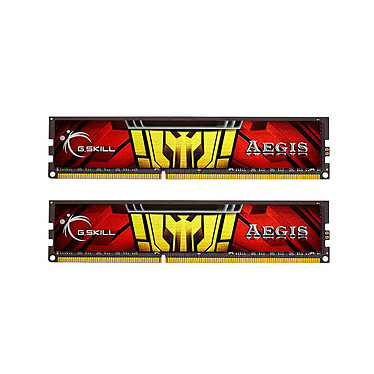 G.Skill Aegis Series 16 Go (2 x 8 Go) DDR3L 1333 MHz CL9 RAM DDR3 PC3-10600 - F3-1333C9D-16GISL (garantie à vie par G.Skill)