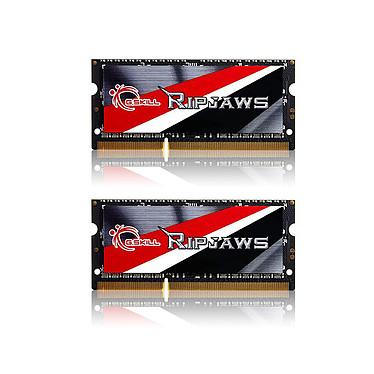 G.Skill RipJaws Series SO-DIMM 8 Go (2 x 4 Go) DDR3 1866 MHz CL11 RAM SO-DIMM PC3-14900 - F3-1866C11D-8GRSL (garantie à vie par G.Skill)