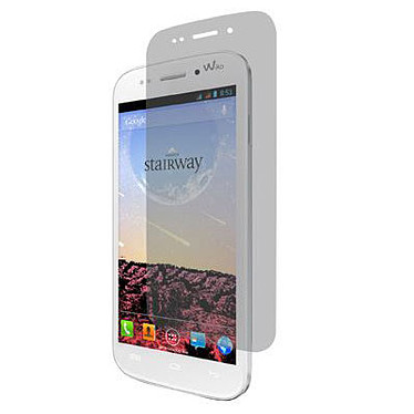 Muvit Screen Protector pour Wiko Stairway Lot de 2 films de protection écran pour Wiko Stairway