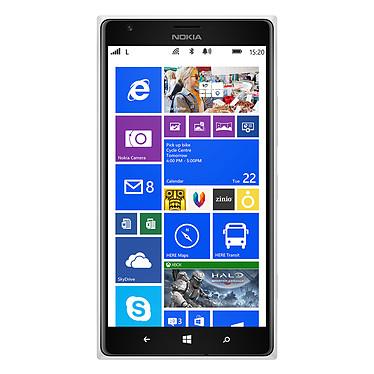 "Nokia Lumia 1520 Blanc Smartphone 4G-LTE avec écran tactile Full HD 6"" sous Windows Phone 8"