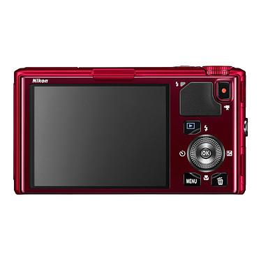 Nikon Coolpix S9500 Rouge + Etui ALM230103 + Carte SDHC 8 Go pas cher