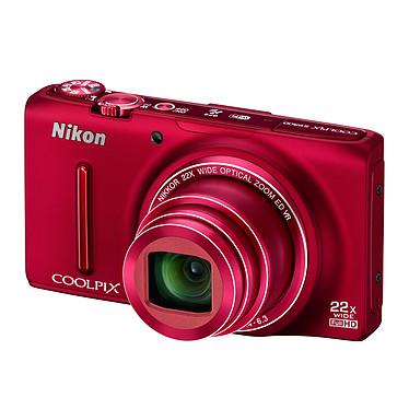 Avis Nikon Coolpix S9500 Rouge + Etui ALM230103 + Carte SDHC 8 Go