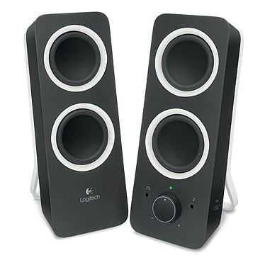 Logitech Multimedia Speakers Z200 Noir Ensemble 2.0 - 5 Watts - Jack 3.5 mm
