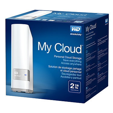 WD My Cloud 2 To pas cher