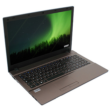 "LDLC Aurore HA1-I5-8-S1H15 Slim Intel Core i5-4200M 8 Go SSD 120 Go + HDD 1.5 To 15.6"" LED Graveur DVD Wi-Fi N/Bluetooth Webcam (sans OS)"