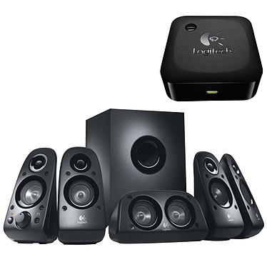 Logitech Speaker System Z506 + Logitech Wireless Adapter