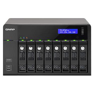 QNAP TS-870 PRO Serveur NAS multimédia 8 baies (sans disque dur)