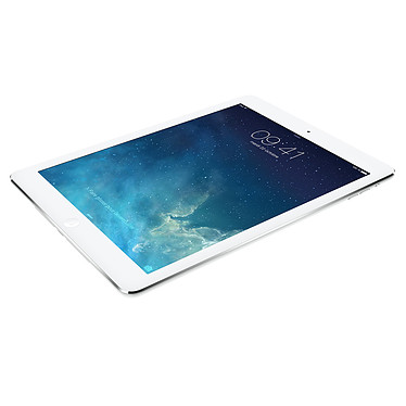 "Apple iPad Air Wi-Fi + Cellular 64 Go Argent Tablette Internet 4G-LTE - Apple A7 1.3 GHz 1 Go - 64 Go 9.7"" LED tactile Wi-Fi N/Bluetooth Webcam iOS 7"