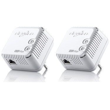 Devolo dLAN 500 Wi-Fi x2 Lot de 2 adaptateurs CPL 500 Mbps Wi-Fi N