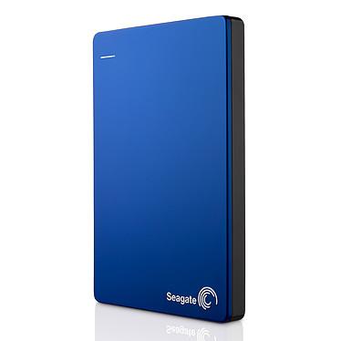 """Seagate Backup Plus 1 To Bleu (USB 3.0) Disque dur portable 2.5"""" USB 3.0 avec sauvegarde automatique sur réseaux sociaux"""