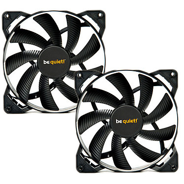 be quiet! Pure Wings 2 120mm par 2 Lot de 2 ventilateurs de boîtier 120 mm (Garantie 3 ans constructeur)