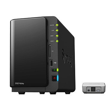 Synology DiskStation DS214play + Audio Port