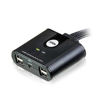 Aten US424 Commutateur pour périphériques USB 2.0 (4 ports) pour 4 ordinateurs