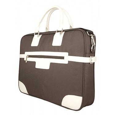 Urban Factory Vicky's Bag (marron) Sacoche féminine pour ordinateur portable (jusqu'à 16'')