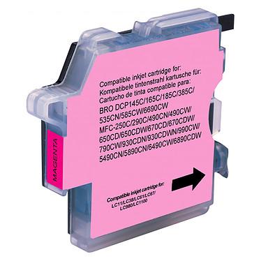 Cartouche compatible LC-980 et LC-1100 (Magenta)