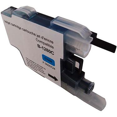 Cartouche compatible LC1280XLC/1240C/1220C Cartouche Cyan générique compatible Brother LC1280XL/1240/1220 (600 pages à 5%)
