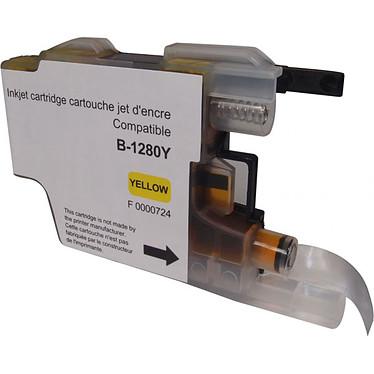 Cartouche compatible LC1280XLY/1240Y/1220Y