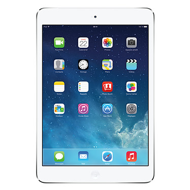 "Apple iPad mini 2 Wi-Fi 32 Go Argent Tablette Internet - Apple A7 1.3 GHz 1 Go 32 Go 7.9"" LED tactile Wi-Fi N/Bluetooth Webcam iOS 7"