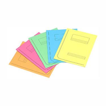 Rainex 50 Chemises 24 x 31.5 cm 2 rabats et pied 250 g Assortiment de coloris