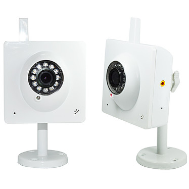 Heden VisionCam Cloud V1.7 Blanc - Pack de 2