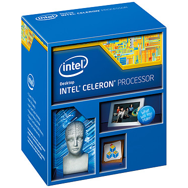 Intel Celeron G3900  (2.8 GHz) Processeur Dual Core Socket 1151 Cache L3 2 Mo Intel HD Graphics 510 0.014 micron (version boîte - garantie Intel 3 ans)