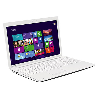 "Toshiba Satellite C55-A-1T6 Blanc Intel Core i3-3110M 4 Go 1 To 15.6"" LED NVIDIA GeForce 710M Graveur DVD Wi-Fi N/Bluetooth Webcam Windows 8.1 64 bits"
