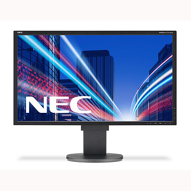 "NEC 21.5"" LCD - MultiSync EA224WMi 1920 x 1080 pixels - 6 ms - Format large 16/9 - Dalle IPS - Pivot - DisplayPort - Hub USB - Noir (garantie constructeur 3 ans)"