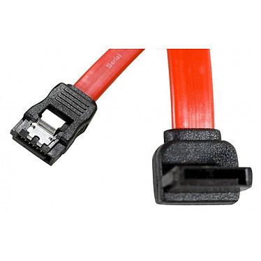 Câble SATA coudé vers le haut avec verrou (50 cm)