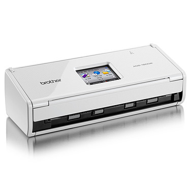 Brother ADS-1600W Scanner fixe avec scan vers Cloud (USB 2.0 / Wi-Fi)