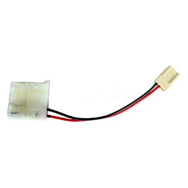 Adaptateur d'alimentation pour ventilateur Molex Connecteur Molex mâle vers femelle 3 broches