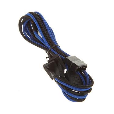 BitFenix Alchemy Molex vers 4x SATA - 20 cm Câble d'alimentation gainé - Molex vers 4x SATA - 20 cm (coloris bleu/noir)