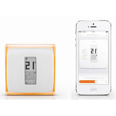 Netatmo NTH01-FR-EC Thermostat intelligent connecté pour smartphone by Starck