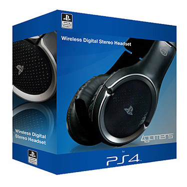 4gamers Wireless Stereo Gaming Headset Casque-micro sans fil sous licence officielle PlayStation 4