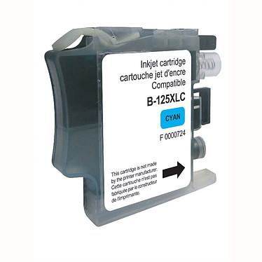 Cartouche compatible LC125XL-C (Cyan) Cartouche d'encre cyan compatible Brother LC125XL-C