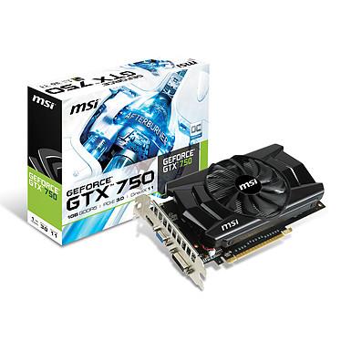MSI GeForce GTX 750 OC 1GB