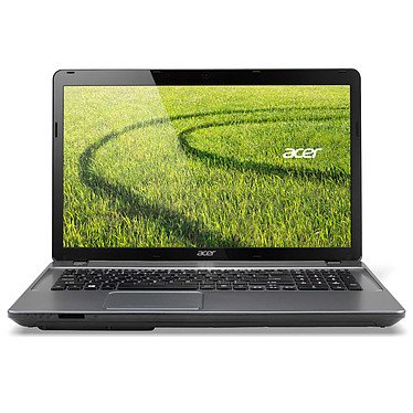 "Acer Aspire E1-771-33114G75Mnii Intel Core i3-3110M 4 Go 750 Go 17.3"" LED Graveur DVD Wi-Fi N/Bluetooth Webcam Windows 8.1 64 bits"