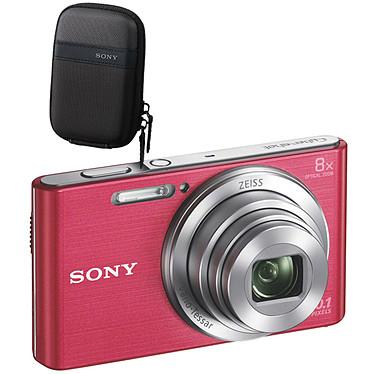 Sony DSC-W830 Pack Rose Appareil photo 20.1 MP - Zoom optique 8x - HD 720p - Écran LCD 6.2 cm